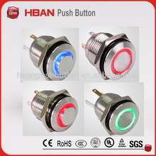 Professional electrical flush push button