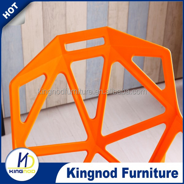Factory Replica Magis One Chair Stackable PP Material Bulk Furniture General Use Plastic Chair