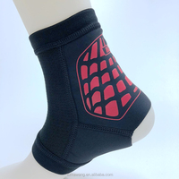 Kawang Neoprene Ankle Compression Sleeve Breathable Ankle Support for Running and Walking