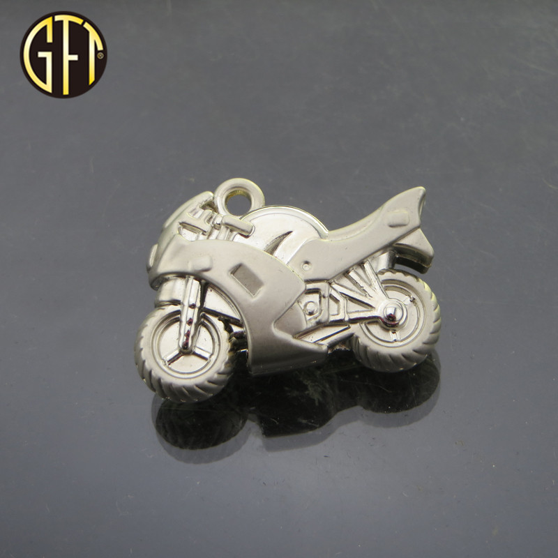 Best selling in usa chinese supplier custom cool 3D enamel metal gift item Motorcycle