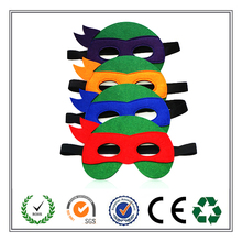 China supplier hot selling popular Eco-friendly TMNT mask felt mask