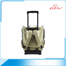 Top quality pet products durable trolley travel pet carrier bag