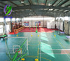 Alibaba China Popular New Type Cheap Healthy Indoor PVC Basketball Flooring Use