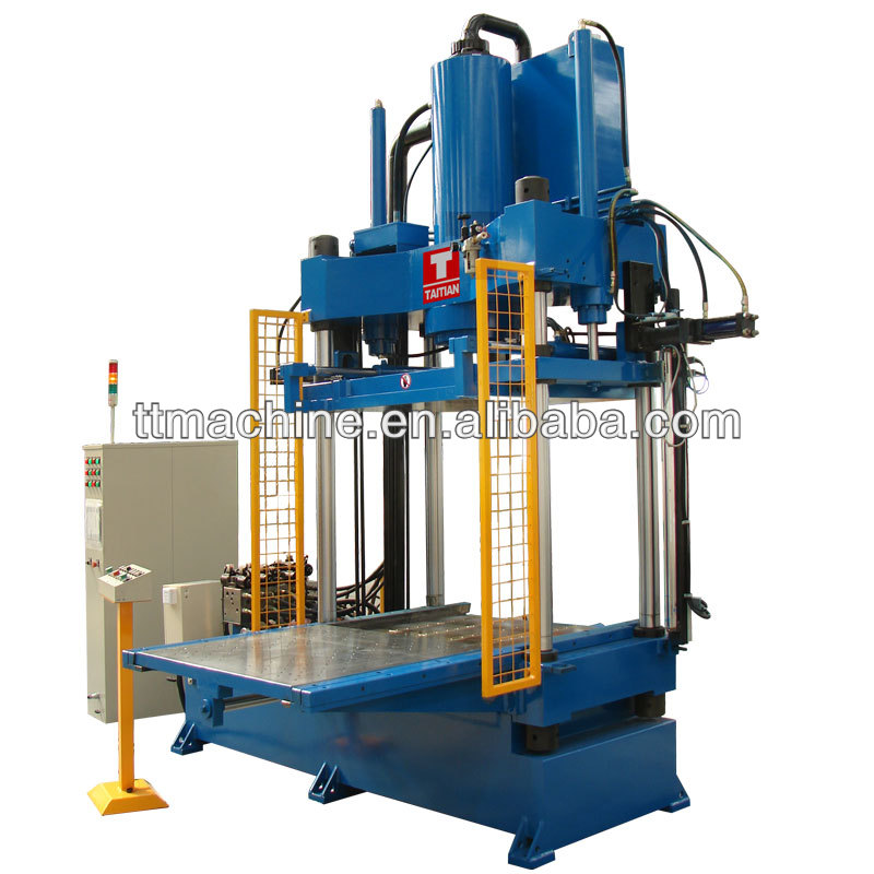 Four Pillar Hydraulic Molding Press Machine