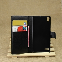 Designer promotional leather phone cases for huawei ascend p6