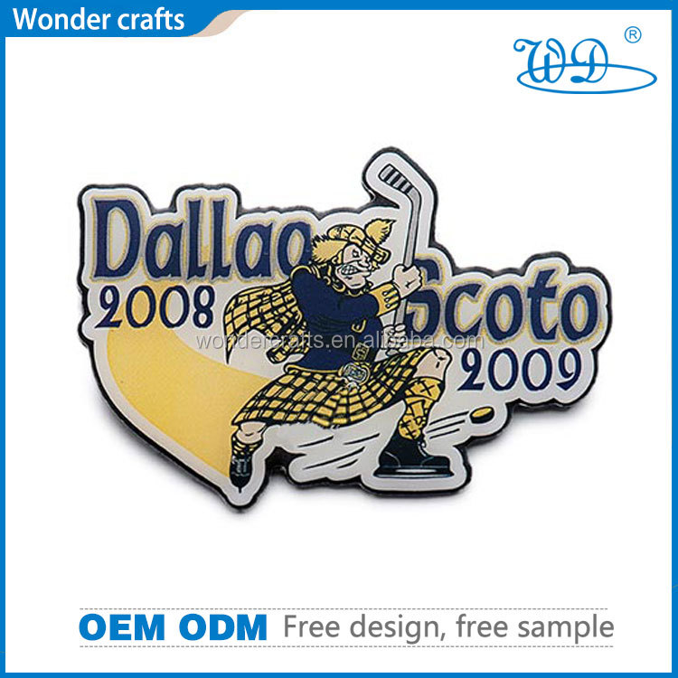 Free design and sample exquiste unique custom logo aluminium alloy silver plating sticker backing pad printing badge