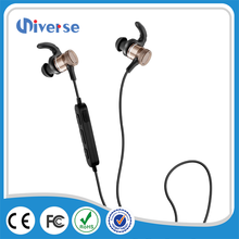 XHH-S6 Wireless Strong Bass metal headset, Sport Stereo necklace Bluetooth 4.1 Magnet neckband earphone