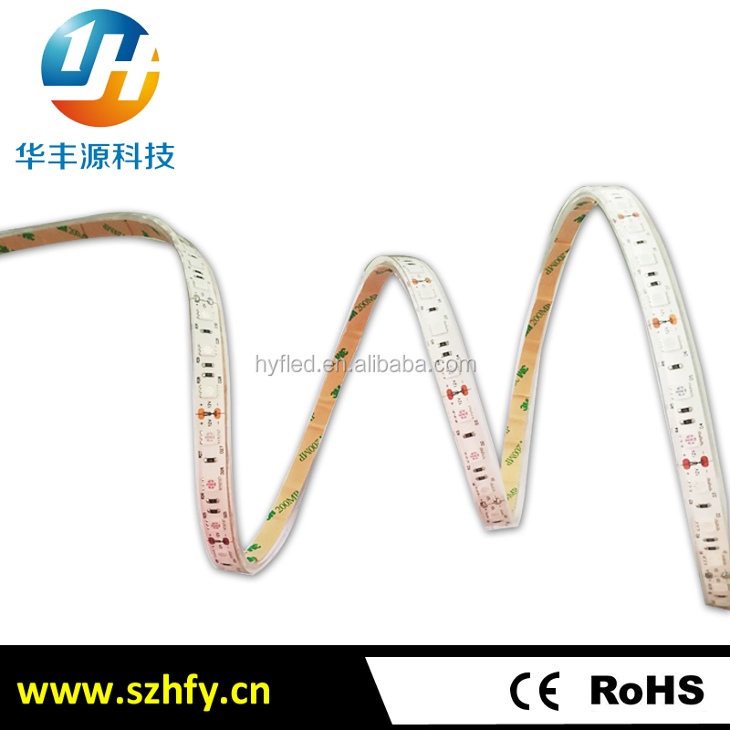 Shenzhen factory 12v 300 leds high brightness SMD 5050 underwater ip68 swimming pool led strip light with 2 years warranty
