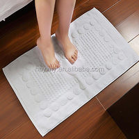 High Quality Custom Logo Cotton Hotel Floor Mat Towel