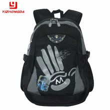Nice new design high quality nylon book school bag for girls and boys