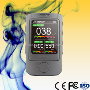 High quality portable smart CO2, PM10 air quality monitor