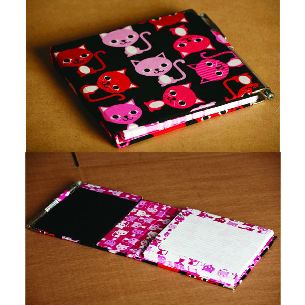 fabric cover gift book
