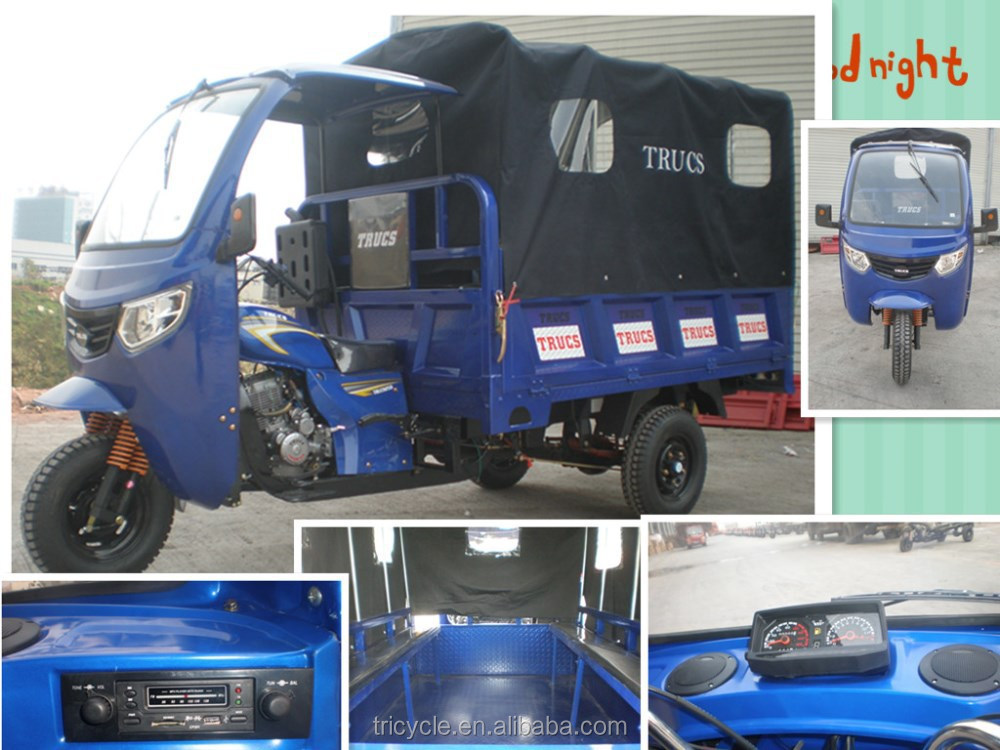 DOHOM 300cc made in chongqing cargo three wheel taxi