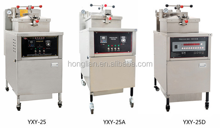 High Efficiency Chicken Used Electric Pressure Deep Fryer