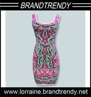 Anti-Static,Anti-Wrinkle,Washable,Eco-Friendly Feature and Worsted Fabric bodycon bandage dress party batik dress