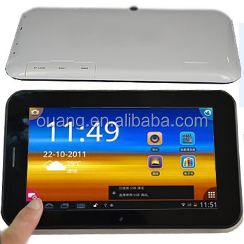ODM tablet/Small Tablet PC Phone MTK6572 Solution Dual Core A9 7inchTablet MID-7002