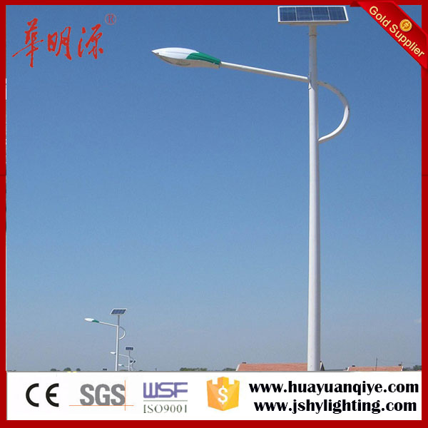 9 meters solar power energy street light poles with CE, ISO, SGS and factory price