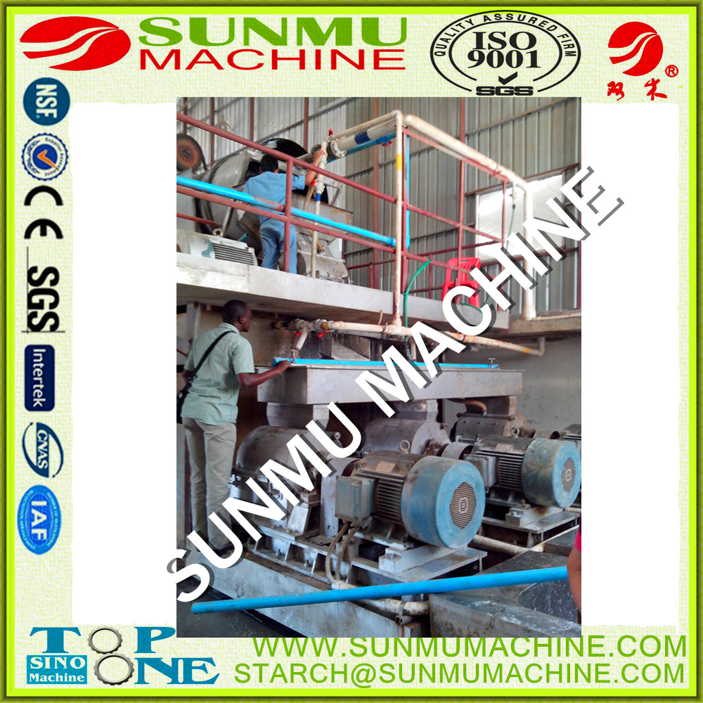 potato starch Manufacturing machine