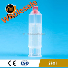 24ml 1:1 NEW Glue tube / dual barrel syringe for epoxy resin
