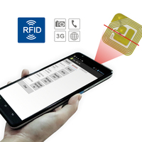 7 inch Android tablet with long range rfid reader, barcode scanner, NFC is optional