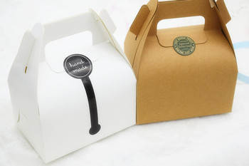 Wholesale Hot Selling High Quality Custom Cheap Brown Recyclable Kraft Paper Candy/Cupcake/Gift Bag With Handle