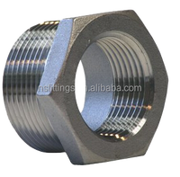 Hex Bushing 316 Stainless Steel Pipe Fitting in 3000 Pressure Rating NPT
