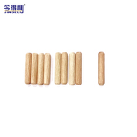 M8*40mm Fastener Wooden Mapel Dowel Screw From China Factory