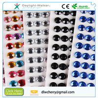 Wholesale crystal mobile decal DIY diamond sticker