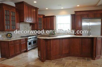 wooden full kitchen cabinet set with granite counter top
