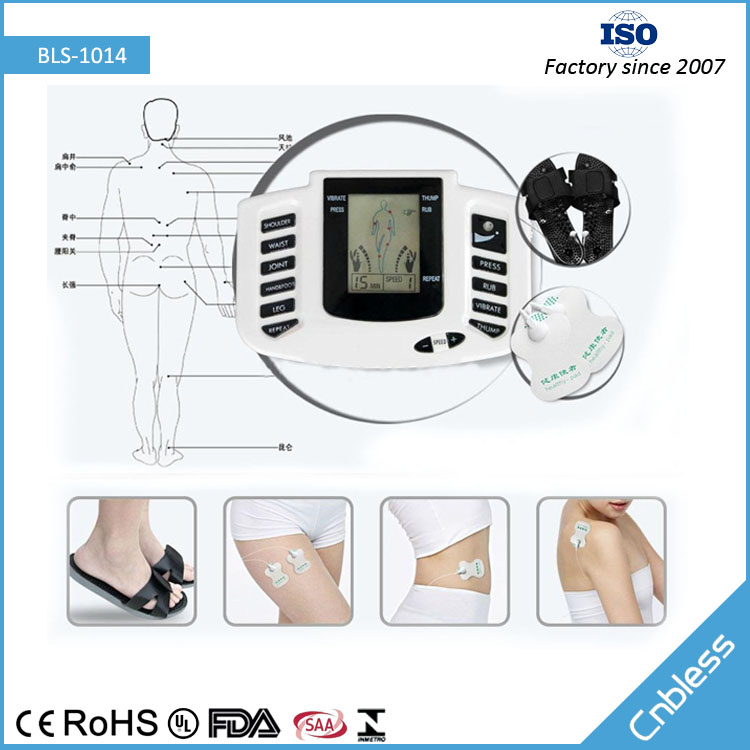 Digital tens slipper foot electromagnetic pulse therapy