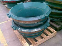 high manganese alloy steel cone crusher mantle