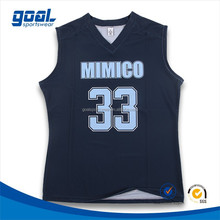 Excellent quality latest styles custom girls' dri fit women basketball jersey