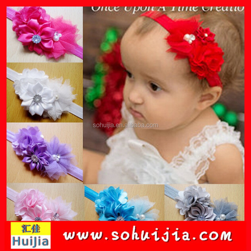hairbands infant girl flower bow headbands
