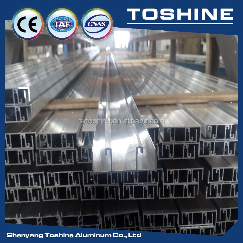 BEST! OEM recycled aluminium extrusion profile supplier 6063 aluminium extrusion greenhouse