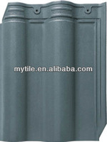 Green Glazed Clay Roof Tiles from Chinese Minyuan Ceramics
