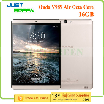 Onda 9.7 inch android tablet V989 Air AllWinner A83T Octa cores 2GB 16GB Android 4.4 china tablet pc manufacturer