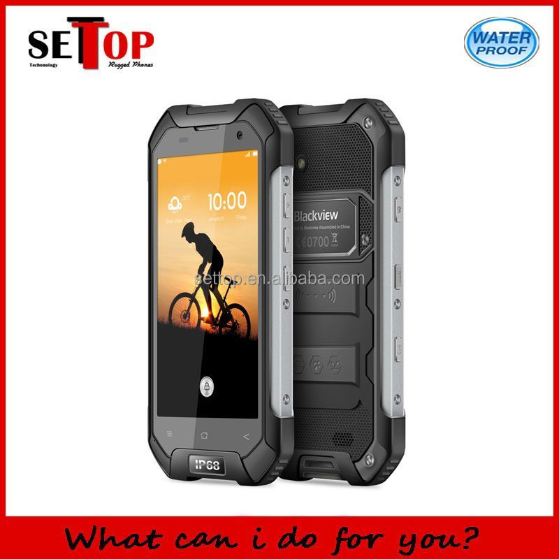 IP68 Waterproof Dustproof Shockproof Smart Phone 4G LTE blackview bv6000