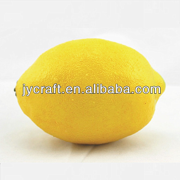 Artificial fruit plastic lemon for decoration