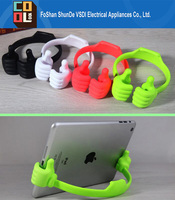 Creative Colorful Portable and Perfect OK Thumb Mobile Phone Holder Tablets Flexible Thumb Holder for Ipad Mini