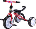 2017 NEW AND SIMPLE CHEAP CHILDREN TRICYCLE WITH BIG RUBBLE WHEELS