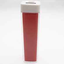 Wholesale CE,Rohs lipstic power bank 2600mah cheap price