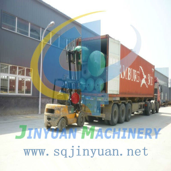 100% Environmental! Used tire pyrolysis plant with dust removal system