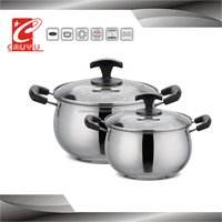 2016 New Stainless Steel Food Pot Cooking Pot