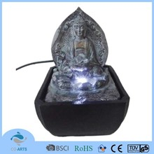 LED office table artificial resin fountains