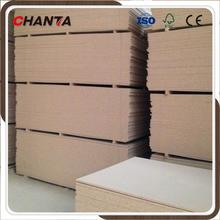 hollow core chipboard laminated plain particle board