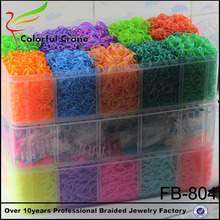 Wholesale diy crazy loom rubber bands, loom for bracelet