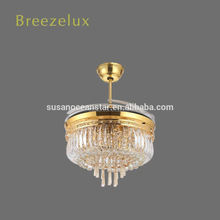 Wholesale children ceiling fan home ceiling fan light shiny chandelier lamp