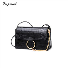 Vintage Tote Bags New Designer Ladies Party Crossbody Bags Metal Button Small Version Shoulder Chain Strap Bags For Women