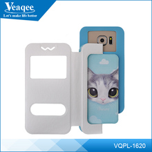 Veaqee mobile phone shell leather pu case for iphone 5s 4s 6, for iphone case