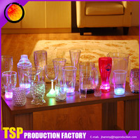 High Quality Custom Design Good Price LED Flashing Fancy Unbreakable Wine Glass